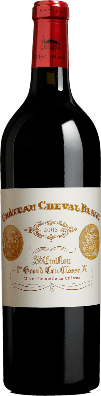 bouteille Cheval Blanc 2005